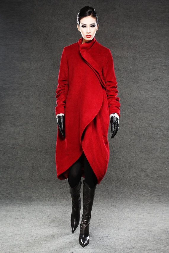 25+ best ideas about Red winter coat on Pinterest | Red ...