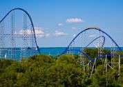Millennium Force is a MUST ride at Cedar Point, the top roller coaster park in the country.   -See more MUST rides at TwinsintheCities