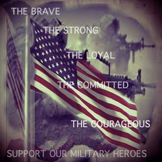 The Brave, The Strong, The Loyal, The Committed, The Courageous #USMilitary - MilitaryAvenue.com