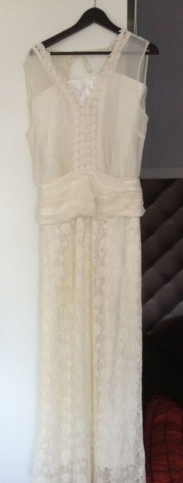 robe de mariage chic bohème mousseline de soie - Paris | Robes de mariée d'occasion | Scoop.it
