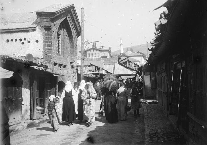 Sarajevo - 1896. - čaršija