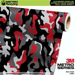 90dae4a741 Large Red Tiger Camouflage Vinyl Wrap Film