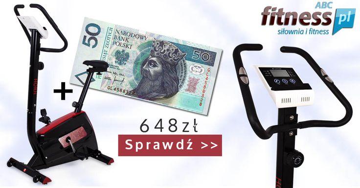 Prezenty do każdego rowerka Sapphire SG-415B Horn, książki, pas neoprenowy, kupon rabatowy i 50 zł w prezencie. http://www.abcfitness.pl/rowery-treningowe/rower-horn/