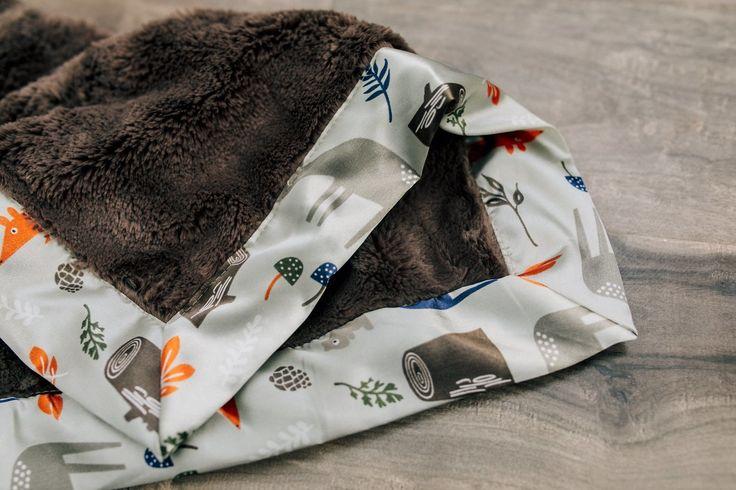 Saranoni Toddler to Teen Blanket - Lush/Satin Border