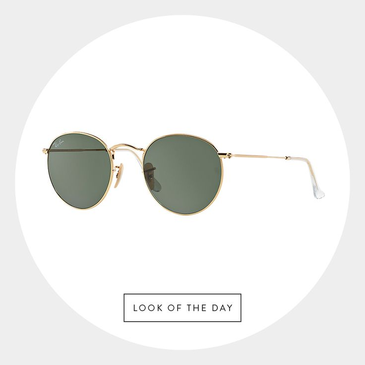 Keeping your look retro and current comes easy with our #LookOfTheDay from Ray-Ban. #Spotted #RoundTrend