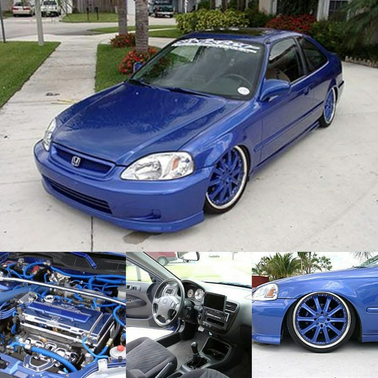 Check out flsfurious's mods, gallery and more on their 1999 Honda Civic Si Coupe Showcase at PureHonda.com. #PureHonda