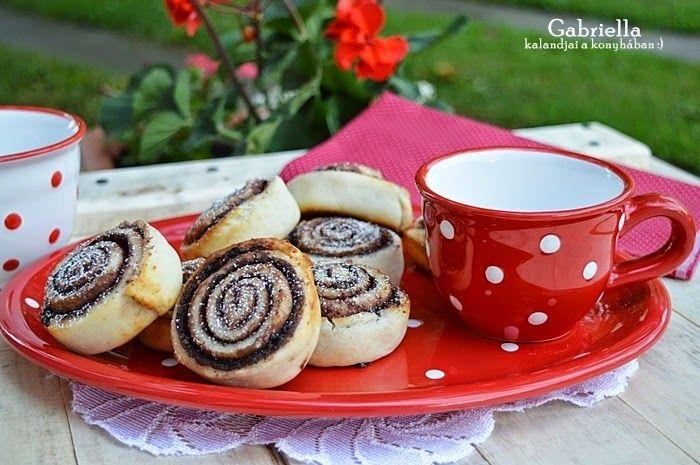 Gabriella kalandjai a konyhában: Villámgyors kakaós csiga