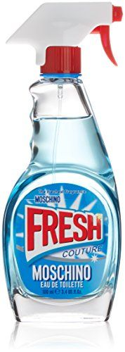 Moschino Fresh Couture Eau De Toilette - 100 Milliliter A distinctive scent blending fresh citrus with floral fragrance, Fresh Couture by Moschino revels in an opening of bergamot, mandarin and ylang-ylang. A heart of tart ras (Barcode EAN = 8011003826711) http://www.comparestoreprices.co.uk/december-2016-5/moschino-fresh-couture-eau-de-toilette--100-milliliter.asp