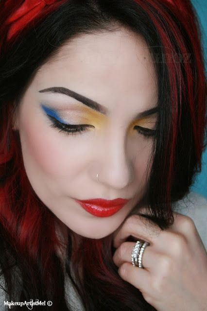 makeup- Make-up Artist Me!: Like Snow White -- A Snow White inspired Makeup Tutorial
