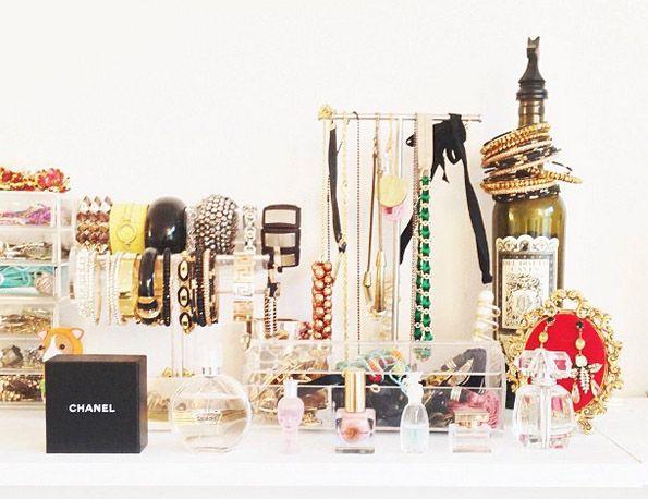 Inspiratie: Sieraden opbergen | 15X handige opbergsystemen waarmee je sieraden en accessoires netjes kunt opbergen plus er ook nog eens leuk uit zien
