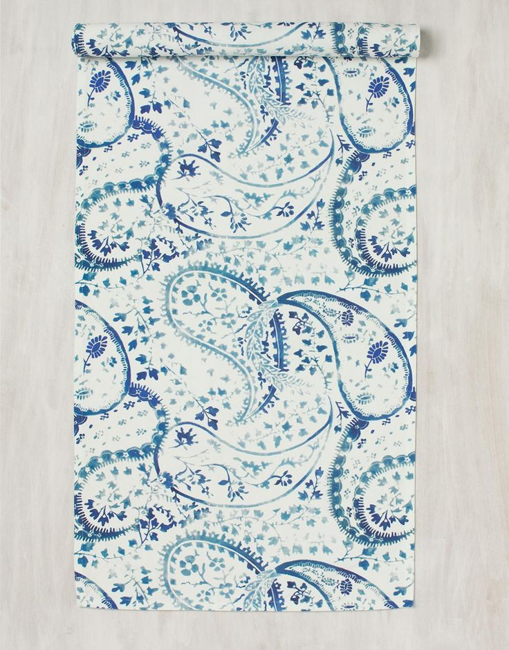 BIRLA placemat blue