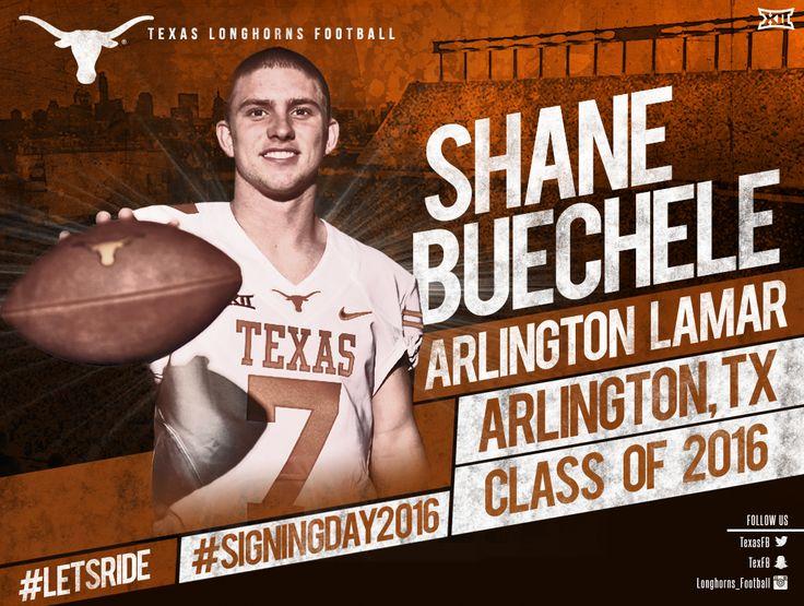 QB Shane Buechele / Arlington, Texas (Lamar) #nsd2016 #letsride #believe