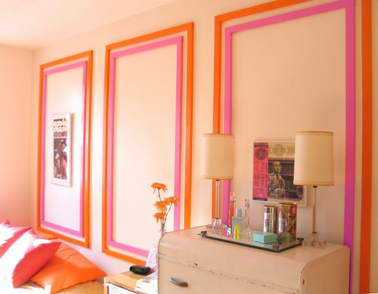 Bright Painted Wood Frames Molding IdeasCrown MoldingMoldingsWall Girls