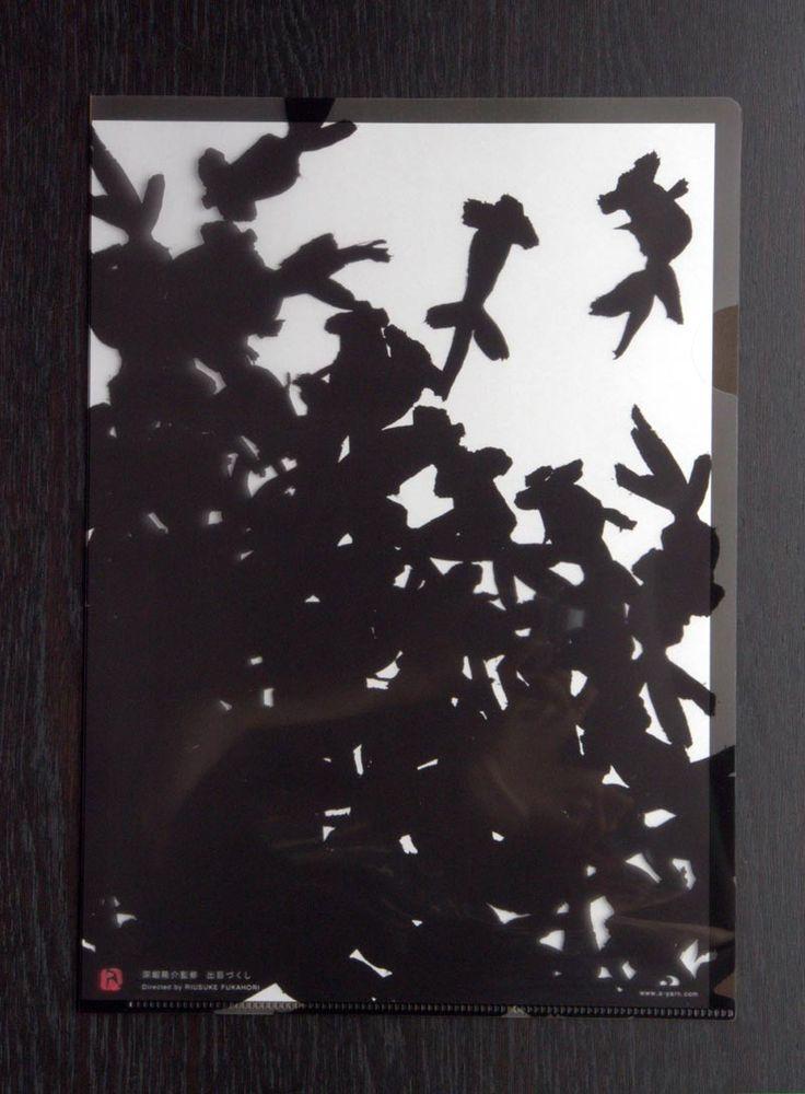 夏のクリアファイル (-深堀隆介-) : 作品: 野庵 yarn 着物小物のお店 (根付、帯留、かんざし、簪、和小物 等)