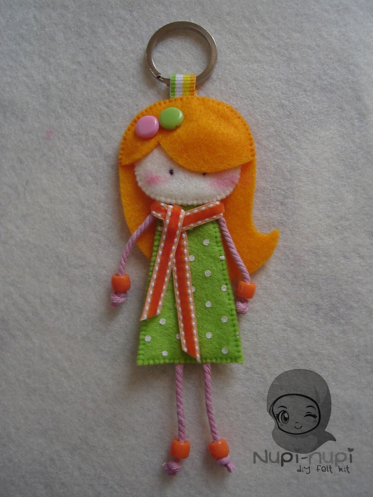 key chain doll
