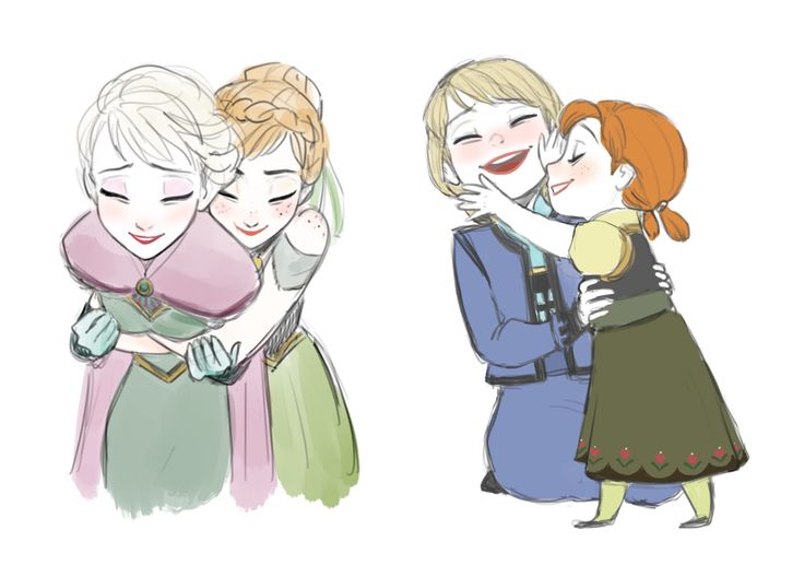 esa sketches frozen anna and sisters - photo #37