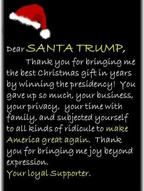 We are blessed by this outstanding leader. We are grateful to our President elect, Donald Trump!