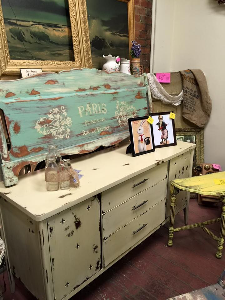 17 Best images about Shabby Distressed Furniture Ideas on
