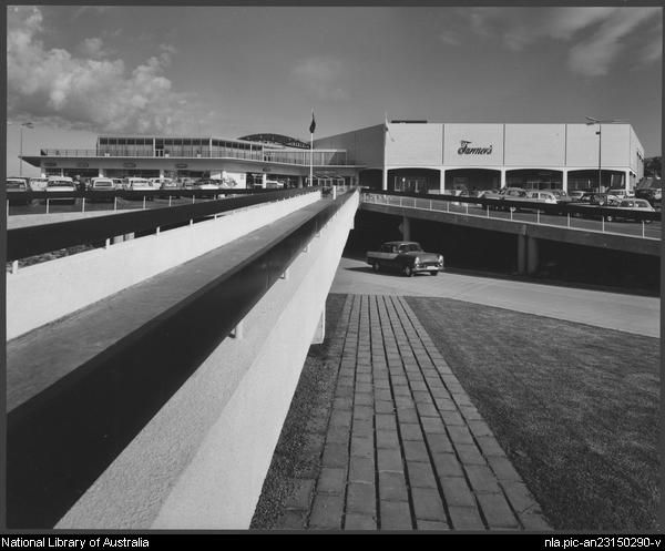 Sievers, Wolfgang, 1913-2007. Miranda shopping centre, Sydney, architects: Tomkins, Shaw & Evans (9) [picture]