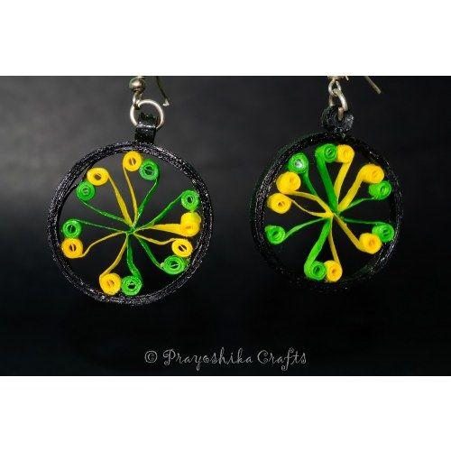 Beautiful Chakra earrings...