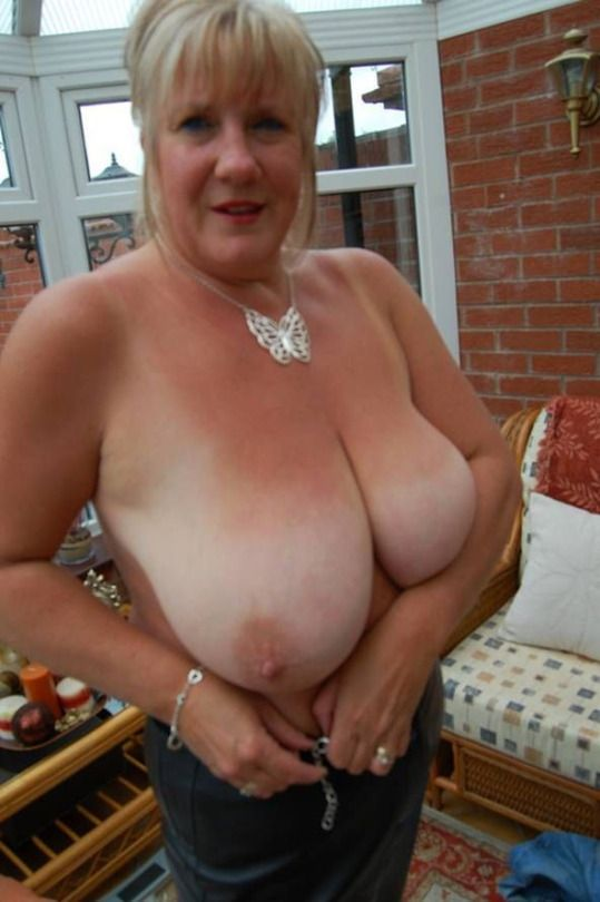 beautiful granny tits