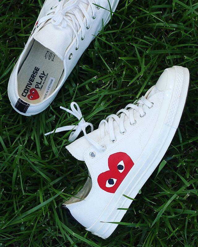 CDG Play x Converse All Star OX