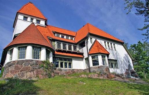 Jugend house  Art Nouveau House, Espoo Finland.