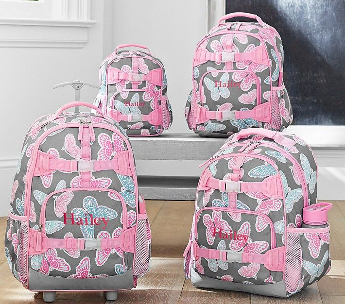 Mackenzie Gray Butterfly Backpacks Back To School