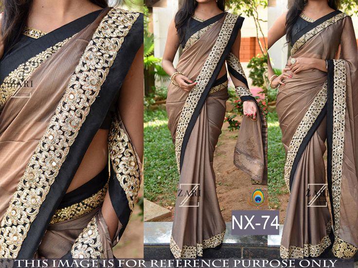 SFH Indian Designer Party Bollywood Sari Lehenga Saree Pakistani Women NX-74…