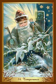Перекрестки Таро - таролог Лина Айн: Карта-совет от колоды Christmas tarot. Карта Умере...