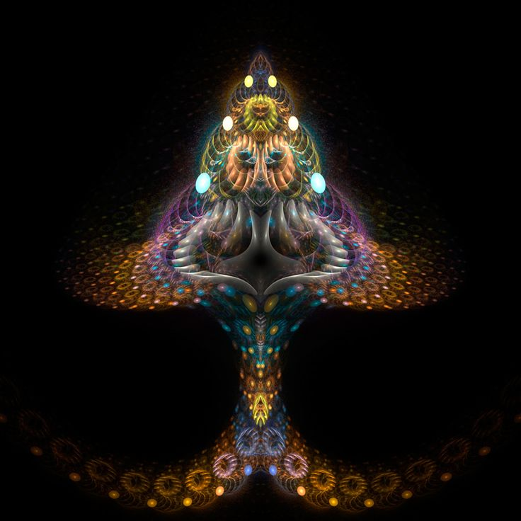 magic mushroom art - photo #27