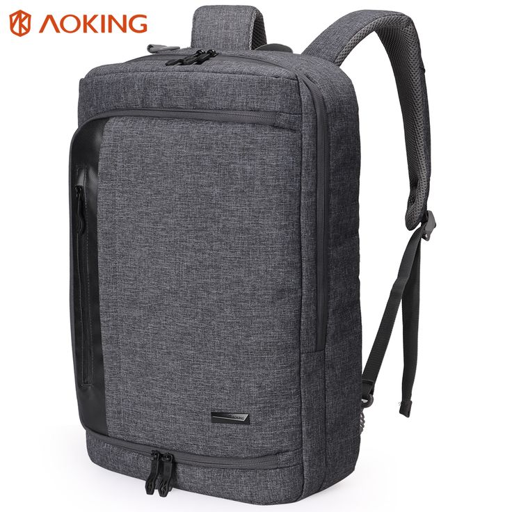 Aoking 2017 Nylon Men Backpack for laptop Large Capacity Multifunctional College Student School Backpack Waterproof Daily Bag // FREE Worldwide Shipping! //     #hashtag4
