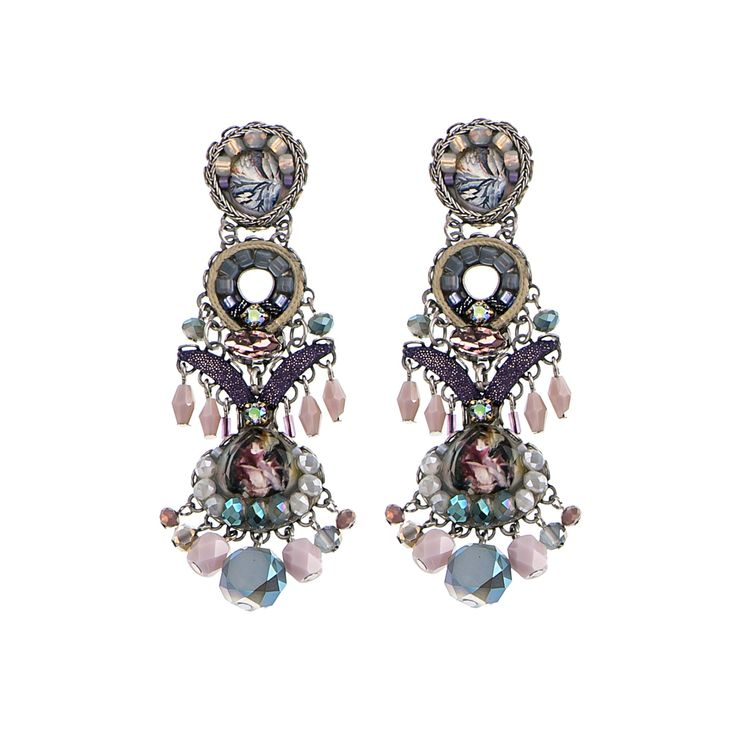 Summer Skies Clover Earrings Ayala Bar Classic Collection Summer 2016