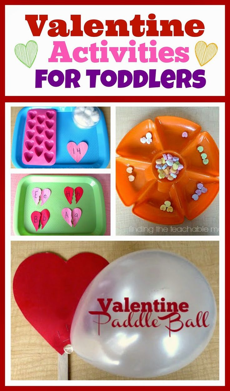 Valentine Activities for Toddlers and Preschoolers!