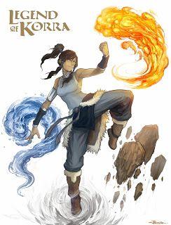 Broken Lullaby  : Serien-Rezension: Die Legende von Korra - Buch 1 (...