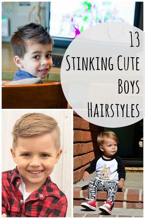 13 Stinking Cute Boys Hairstyles via @howdoesshe