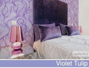 PANTONE 2014: Violet Tulip pattern by Big-trix.pl | #pantone #pantone2014 #violettulip #wallpaper