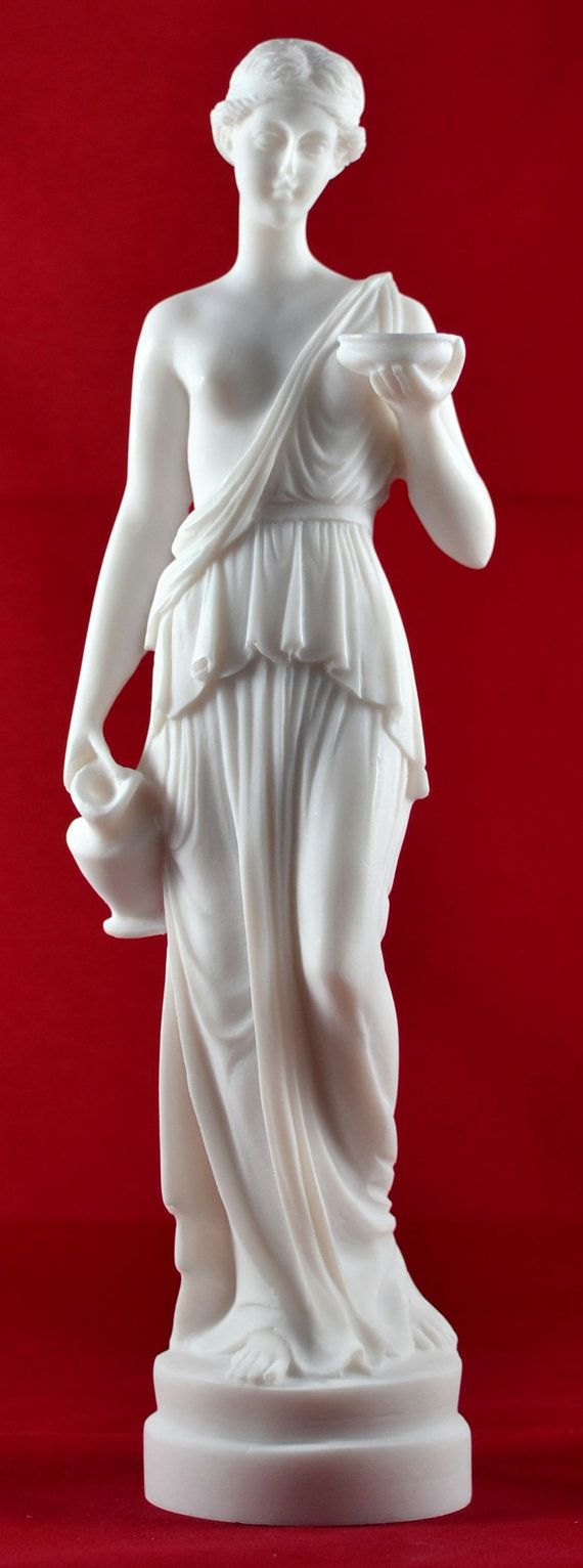 Hestia Goddess of House Fmily Greek Statue by marblecreations82