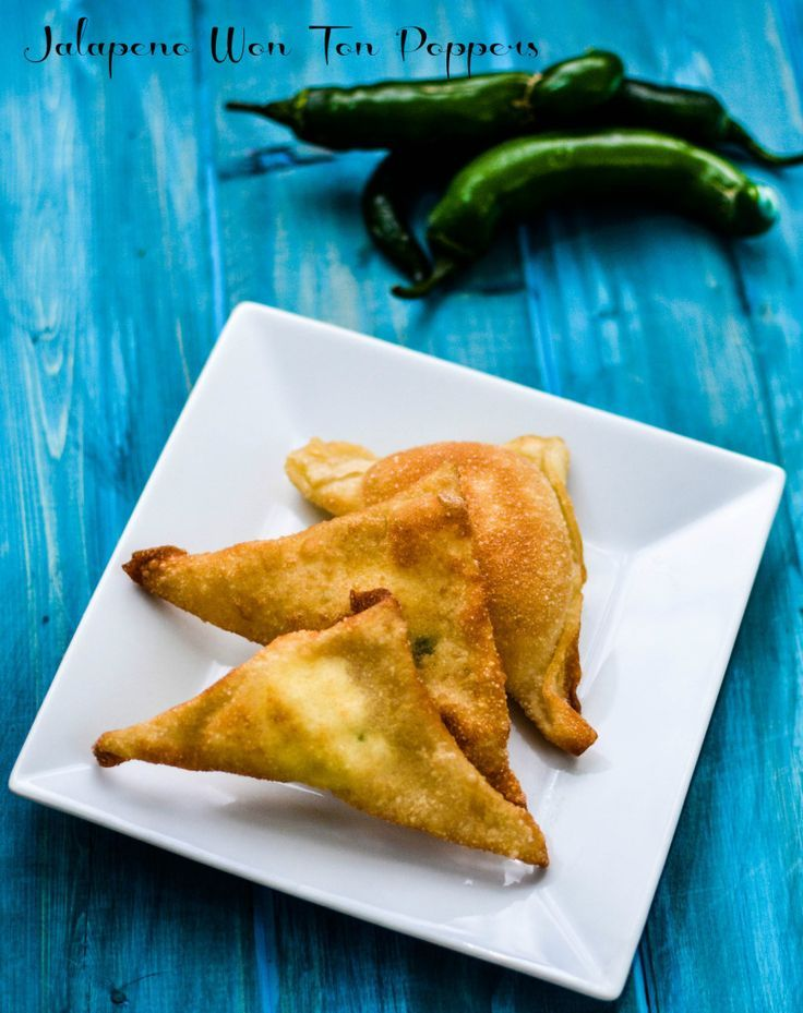 A spicy yet sweet appetizer for your next party Jalapeno Wonton Poppers delivers on both flavors.