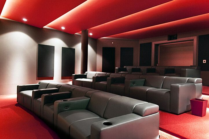 25 best ideas about home theater seating on pinterest 19668 | 26599a38fd61d46bc6022f2ba356ffb3