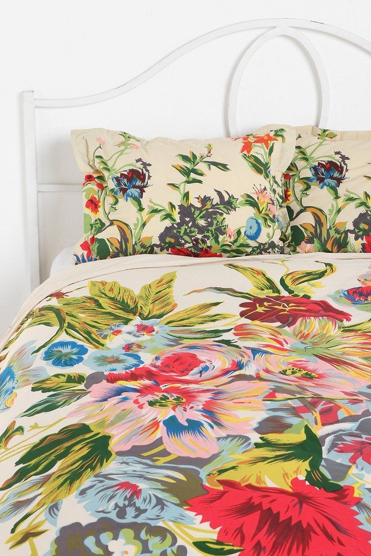 Romantic Floral Scarf Duvet And Pillowcases From Urban