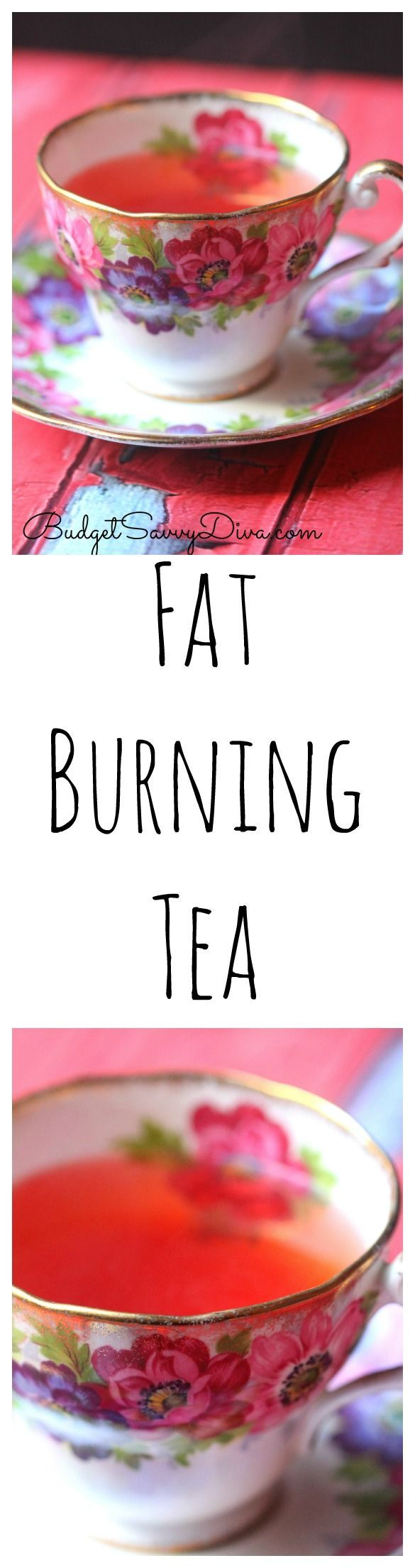 FAST Working Fat Burning Tea Recipe. Almost instant results - DIY Skinny Tea Recipe. Detox Tea. Sip once daily and look slimmer!