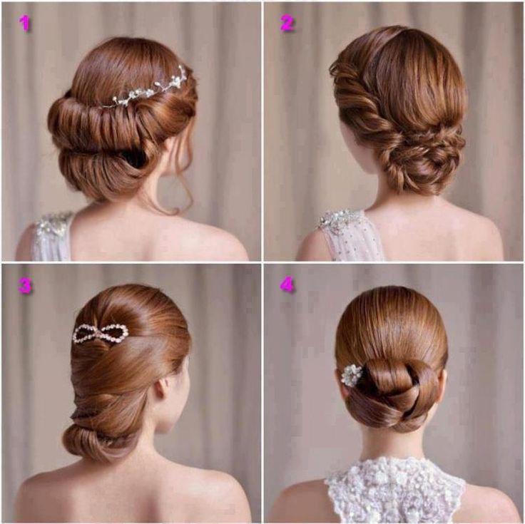 Admirable Hairdos Braided Buns And Girls On Pinterest Short Hairstyles Gunalazisus
