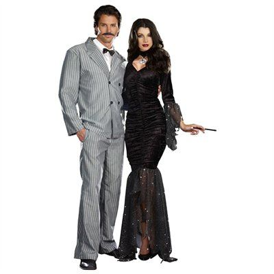 Mens Tuxedo Suit Gomez Addams Halloween Costume | Family ...