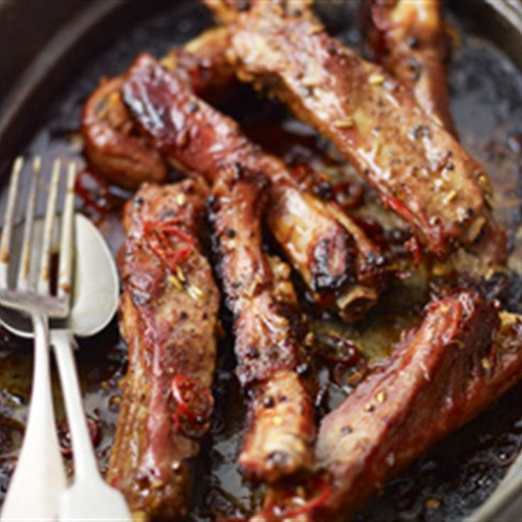 Try this Five-spiced Baked Ribs recipe by Chef Lorraine Pascale. This recipe is from the show Home Cooking Made Easy.