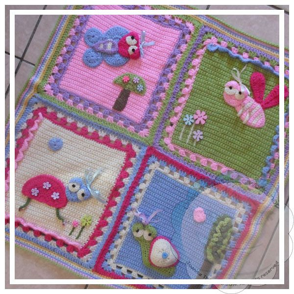 639 best Baby Afghans Crochet and Knit images on Pinterest | Hand ...