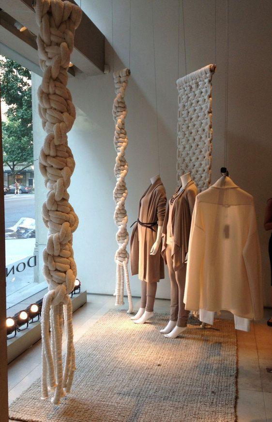 Macrame Decoration | Macrame Store Display