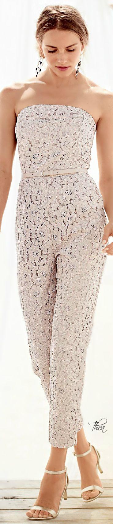 Blush Lace Jumpsuit •  Street 'CHIC #abbigliamento