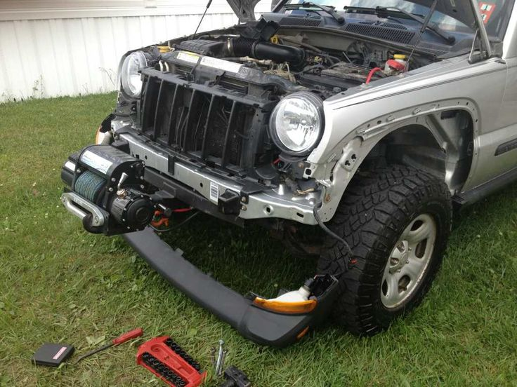 Custom Jeep Liberty Bumpers | Jeep Liberty Custom Roof Rack | Jeep Liberty  | Pinterest | Jeep Liberty, Custom Jeep And Roof Rack