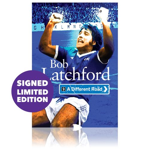 A Different Road: Signed by Bob Latchford
